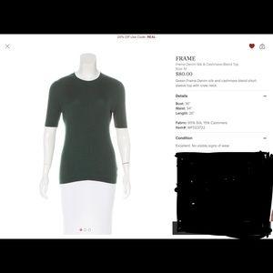 Frame cashmere top